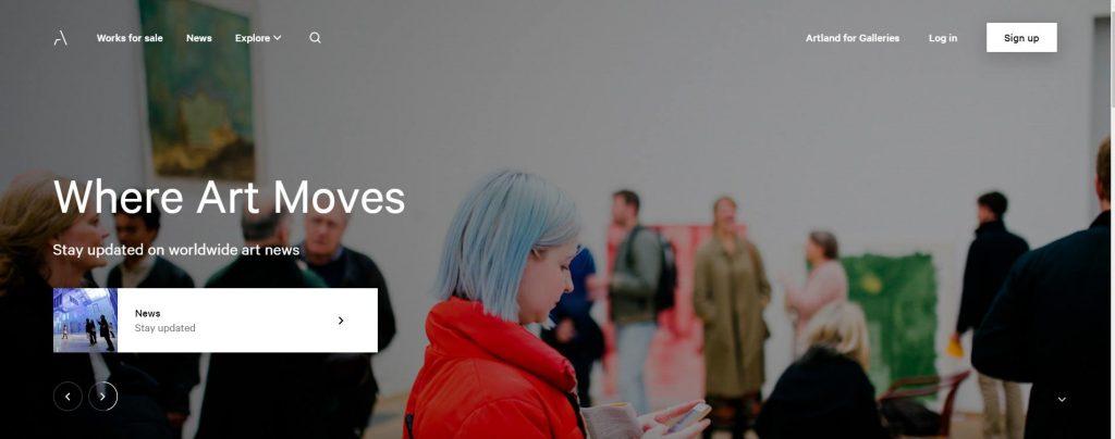 بازار خرید و فروش آثار هنری